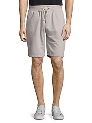 Alternative Apparel Relaxed Cotton Blend Tie Shorts Eco Mock Marine
