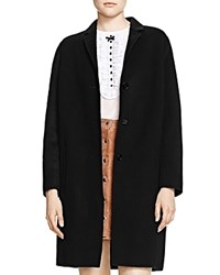 The Kooples Wool Coat Black
