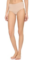 Hanky Panky Bare Godiva High Rise Thong Taupe