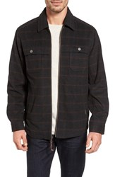 Tommy Bahama Men's Ramero Wool Blend Shirt Jacket