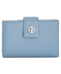 Giani Bernini Softy Framed Wallet Created For Macy's Chambray Silver