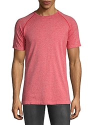 Hpe Cross X Seamless Tee Red