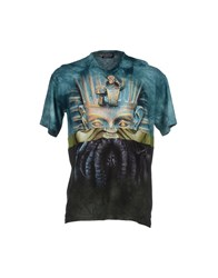 Andrea Crews T Shirts Deep Jade