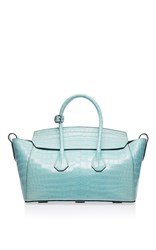 Bally Sommet Medium Tote Light Blue
