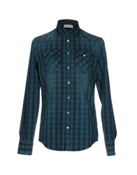 Aglini Shirts Green