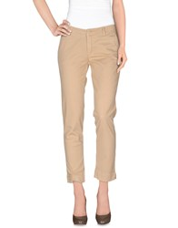 Jaggy Trousers Casual Trousers Women Sand