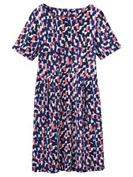 Joules Beth Dress Navy Coral
