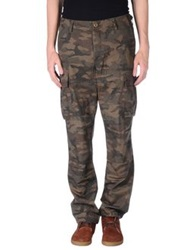 Stussy Casual Pants Military Green