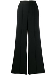 Alice Olivia Dylan Wide Leg Trousers Black