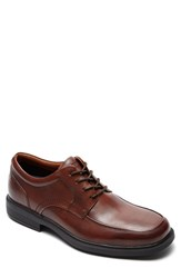 Men's Rockport 'Dressports Luxe' Apron Toe Derby New Brown