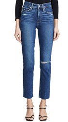 Paige Hoxton Slim Jeans Slopes Destructed