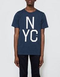 Saturdays Surf Nyc Slab Tee In Postal Blue