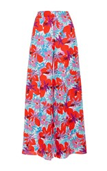 Soler Barcelona Palazzo Trousers Floral