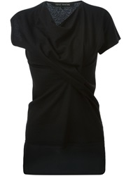 Ter Et Bantine Cowl Neck Blouse Black