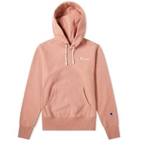Champion Reverse Weave 'S Small Logo Script Hoody Pink