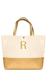 Cathy's Concepts Personalized Canvas Tote Yellow Gold R