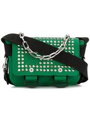 Zadig And Voltaire Nano Ready Made Crossbody Bag Green