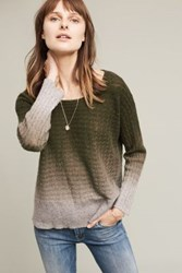 Anthropologie Ombre Cashmere Pullover Holly