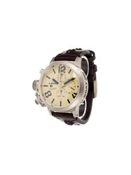 U Boat 'Classico' Analog Watch Silver