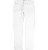 Officine Generale Slim Fit Denim Jeans White