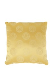 Versace Medusa Royale Silk Pillow Gold