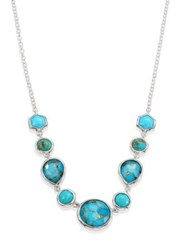 Ippolita 925 Rock Candy Turquoise Five Stone Necklace