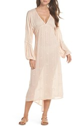 Muche Et Muchette Mercer Cover Up Maxi Dress Blush