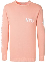 Guild Prime Nyc Brand Sweater Pink And Purple