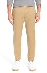 Men's Original Penguin 'P55' Straight Leg Stretch Pants Kelp