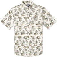 Patagonia Short Sleeve Go To Palms Of My Heart Shirt White