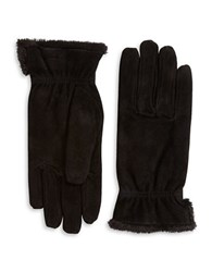 Isotoner Suede Fleece Lined Gloves