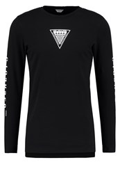 Jack And Jones Jcotheis Slim Fit Long Sleeved Top Black