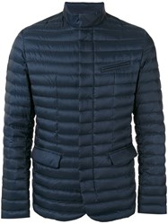 Colmar 'Punk' Padded Jacket Men Feather Down Polyester 48 Blue