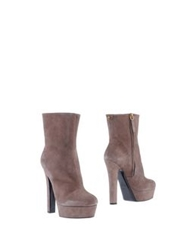Vicini Ankle Boots Dove Grey