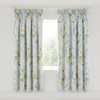 Sanderson Giselle Lined Curtains 168X183cm Duck Egg