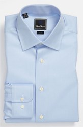 Men's Big And Tall David Donahue Trim Fit Dress Shirt Sky