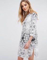 B.Young Henico Shirt Dress Off White 80115