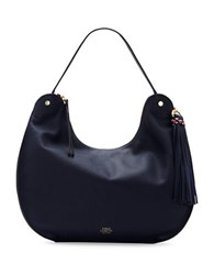 Vince Camuto Chana Leather Hobo Bag Peacock