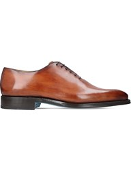 Sutor Mantellassi Oliver Leather Oxford Shoes Tan