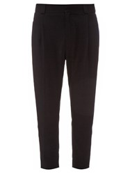 Haider Ackermann Orbai Side Striped Wool Trousers Blue Stripe