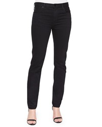 T By Alexander Wang Relaxed Fit Straight Leg Jeans Black