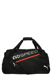 Puma Evospeed Medium Sports Bag Black Red Blast