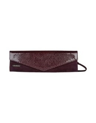 Rebeca Sanver Medium Leather Bags Purple
