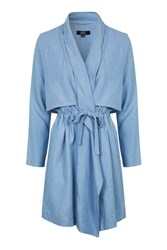 Denim Waterfall Coat By Goldie Blue