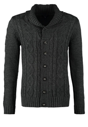 New Look Cardigan Charcoal Black