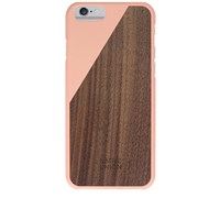 Native Union Wood Edition Clic Iphone 6 Case Pink