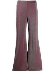 M Missoni Metallic Jersey Flared Trousers 60