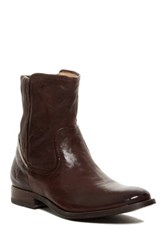 Frye Melissa Scrunch Short Boot Brown