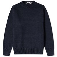 Inis Meain Inis Meain Washed Linen Crew Knit