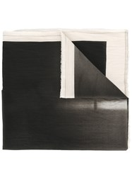 Lost And Found Ria Dunn Back Printed Scarf Black